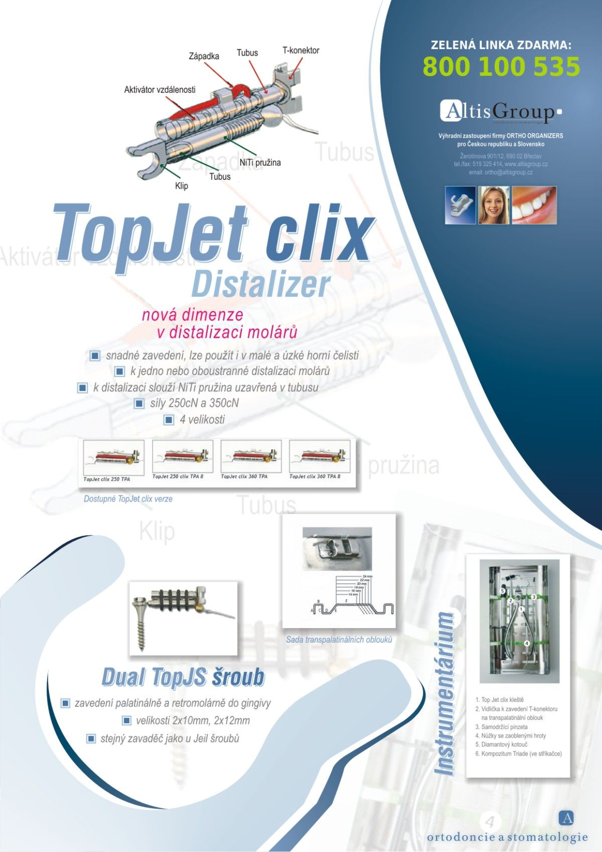 Top Jet clix Distalizer