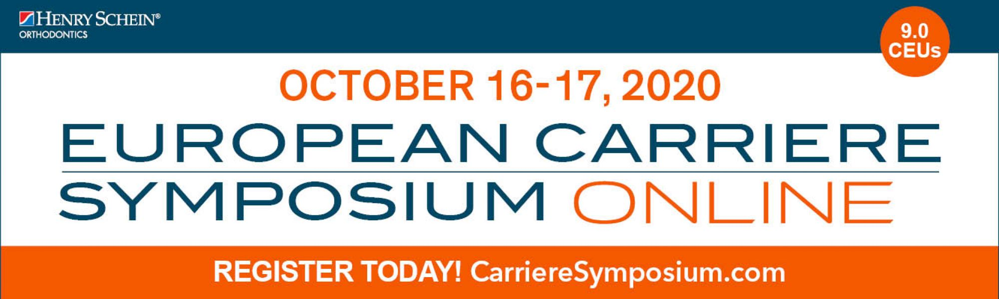 EUROPEAN CARRIERE SYMPOSIUM